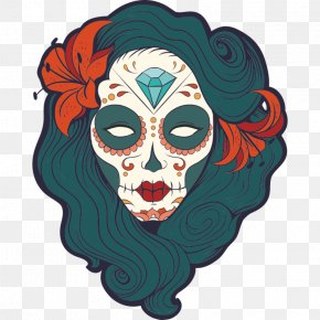 United States - La Calavera Catrina Day Of The Dead Death United States PNG