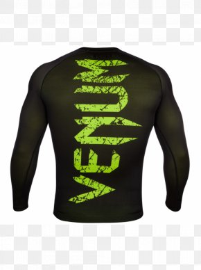 T-shirt - T-shirt Venum Mixed Martial Arts Rash Guard PNG
