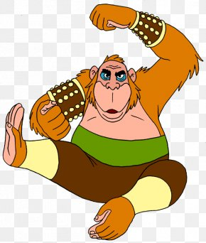 King Louie Transparent Image - King Louie The Jungle Book Shere Khan Baloo Colonel Hathi PNG