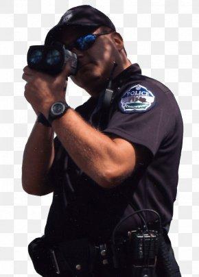 Police Gun - Police Officer Radar Gun Radar Detector Speed Limit Enforcement PNG