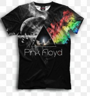 T-shirt - T-shirt Rock Band Pink Floyd Image Unique Diy New Hard Snap On Cover Protector Case For The Dark Side Of The Moon PNG
