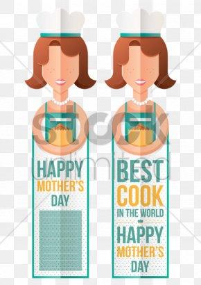 Mother's Day Illustration - Text Orange S.A. Paper Clip Clip Art PNG