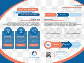 Blue Border Business Manual PNG