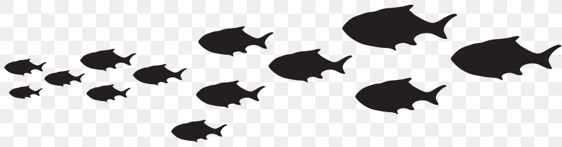 Daddy Pig Mummy Pig Fish The Art Of Diving, PNG, 8000x2098px, Fish, Art, Black, Black And White, Fishing Download Free