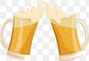 Beer Glass, Cheers! - Beer Glassware Mug Cup PNG