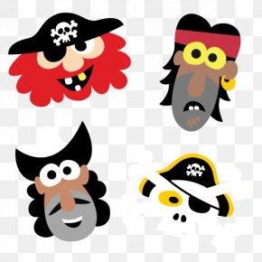 Mask - Piracy Mask Cartoon Clip Art PNG