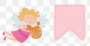 Vector Angel Pink - Cupid Euclidean Vector Download Icon PNG