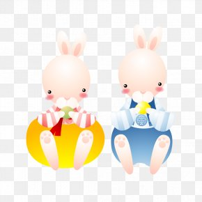 Bunny Cartoon Animation - Easter Bunny Rabbit Cartoon Animation Illustration PNG