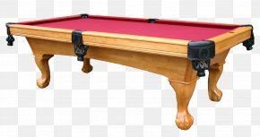 Pool Table Clipart - Pool Billiard Table Billiards PNG