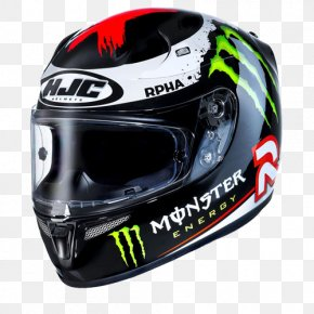 Motorcycle Helmets - Motorcycle Helmets Monster Energy HJC Corp. PNG