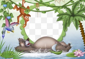 Jungle Cliparts Frames - Picture Frames Photography Clip Art PNG