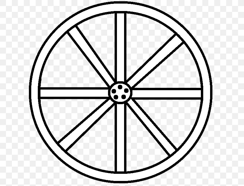 Wheel Coloring Book Black And White Clip Art, PNG, 638x625px, Wheel, Area, Bicycle Part, Bicycle Tire, Bicycle Wheel Download Free