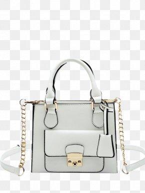 Tote Bag Off White Clothing - Handbag Shoulder Bag M White Leather PNG