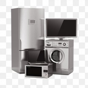 Electric Combination Refrigerator Washing Machine TV - Home Appliance Major Appliance Refrigerator Washing Machine Small Appliance PNG