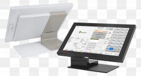 Computer - Computer Monitors Computer Hardware Pokladní Systém Point Of Sale PNG