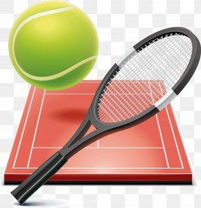 Build A Soccer Empire BadmintonTennis Ball Tennis Elements - Tennis Racket Sport Football Chairman PNG