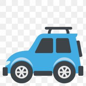 Vehicle Vector - Emoji Car Emoticon Text Messaging Campervans PNG