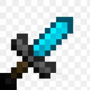 Minecraft - Minecraft Pickaxe Sword Tool Mod PNG