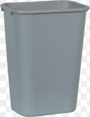 Trash Can - Waste Container Plastic Recycling Bin Resin PNG