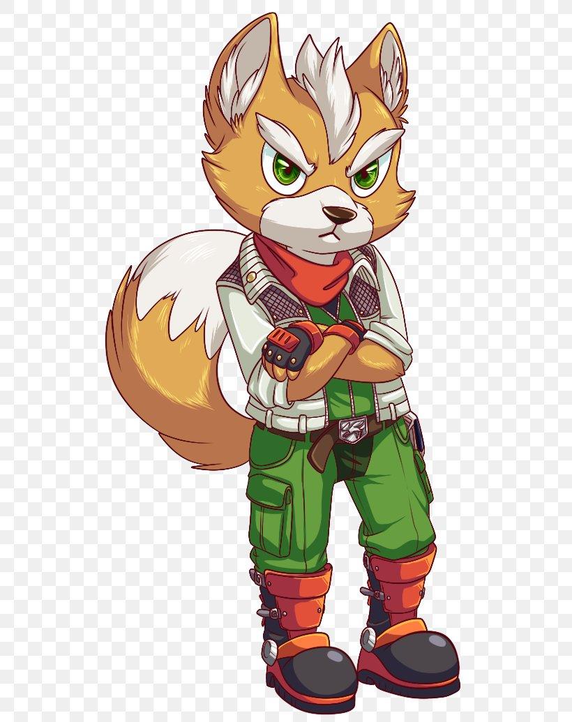 Star Fox Fox Mccloud Art Krystal Video Games Png