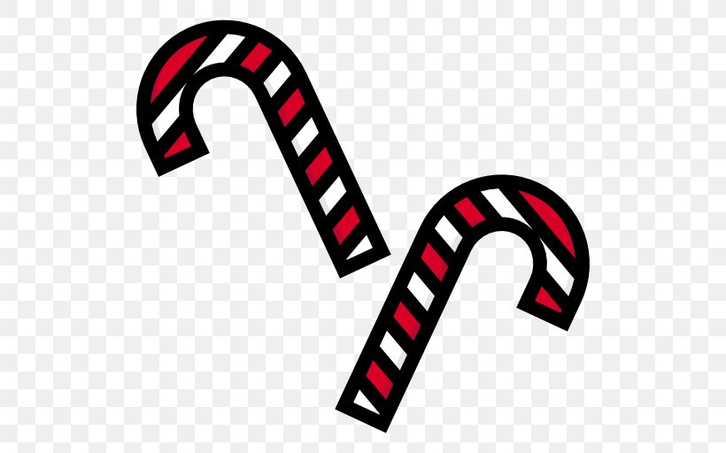 Candy Cane Clip Art, PNG, 512x512px, Candy Cane, Area, Brand, Candy, Christmas Download Free