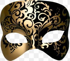 Metal Mask Pattern - Venetian Masks Masquerade Ball Carnival PNG