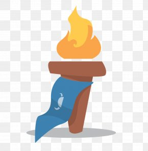 Flame Torch - Torch Flame Fire Clip Art PNG