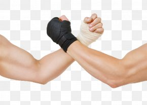 Arm Wrestling - Hand Clasping Arm Wrestling PNG
