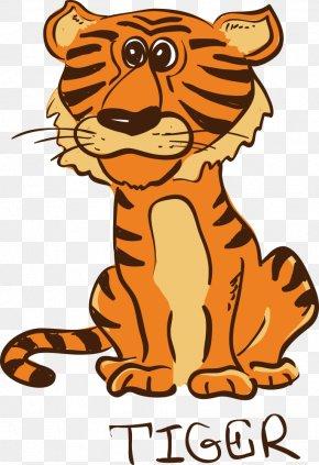 Vector Zodiac Tiger - Tiger Chinese Zodiac Clip Art PNG