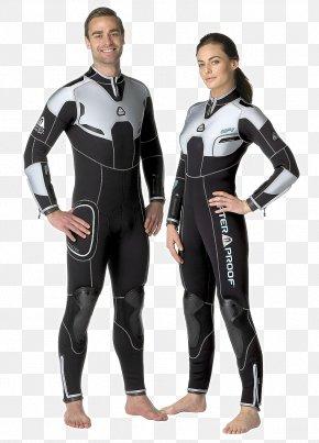Enhanced Protection - Wetsuit Diving Suit Scuba Diving Sharkskin Waterproofing PNG
