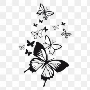 Butterfly Decoration - Wall Decal Bumper Sticker Paper PNG
