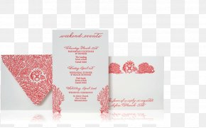 Invitation Luxury - Wedding Invitation Paper Greeting & Note Cards Pink M Petal PNG