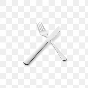 Western Stainless Steel Knife And Fork Love Each Other Two Groups - Fork Knife Spoon Stainless Steel PNG