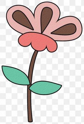 Wildflower Pedicel - Pink Flower Cartoon PNG