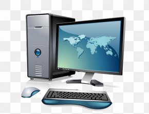 Computer - Computer Hardware Output Device Personal Computer Computer Monitors Computer Keyboard PNG