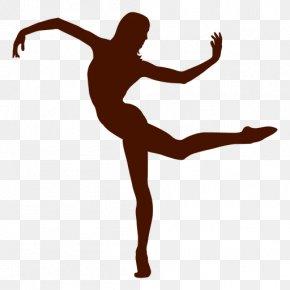 Dancer - Contemporary Dance Modern Dance Ballet Dancer Silhouette PNG