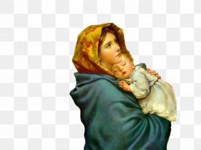 Child - Immaculate Conception Mother Child Theotokos Catholic PNG