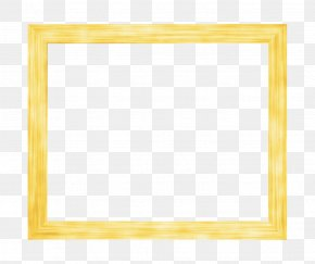 Frame Style Box - Picture Frame Yellow Pattern PNG