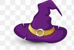 Halloween Witch Hat - Witch Hat Halloween Witch Hat PNG