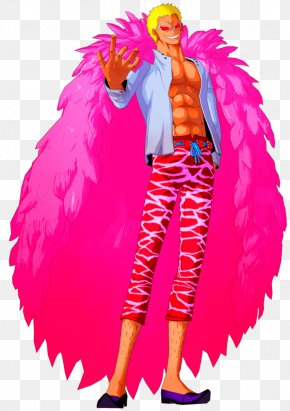 One Piece - Donquixote Doflamingo Monkey D. Luffy One Piece: Unlimited World Red Monkey D. Garp Trafalgar D. Water Law PNG