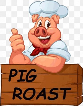 Pig Roast - Pig Roast Roasting Barbecue Roast Chicken PNG