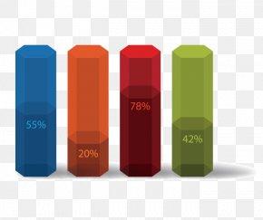 PPT Material - RGB Color Model Bar Chart Blue PNG