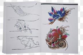 Travel Display - Tattoo Hannya Drawing Flash Nelumbo Nucifera PNG