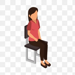 Be Right Back Person Sitting - Vector Graphics Royalty-free Stock Illustration Euclidean Vector PNG
