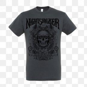 T-shirt - T-shirt Nightstalker Just A Burn Dead Rock Commandos Sleeve PNG