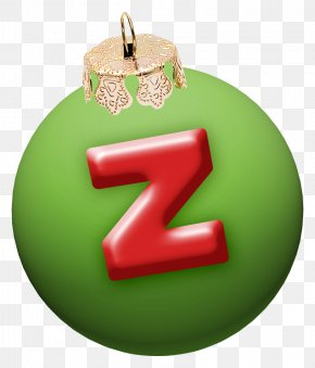 Christmas Letter Z - Christmas Letter Alphabet Font PNG