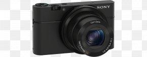Camara Fotografica - Digital SLR Sony Cyber-shot DSC-RX100 Camera Lens Point-and-shoot Camera PNG