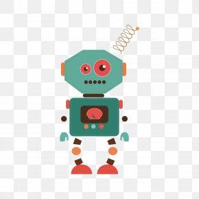 Cartoon Antenna Robot - Opencube Labs Robot Chatbot Internet Bot Marketing PNG