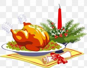Free Turkey Dinner Clipart - Clip Art Image 1 of 20