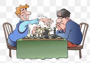 Daily Play Chess Black And White Comic - Chess Reversi Xiangqi U68cbu7c7b PNG